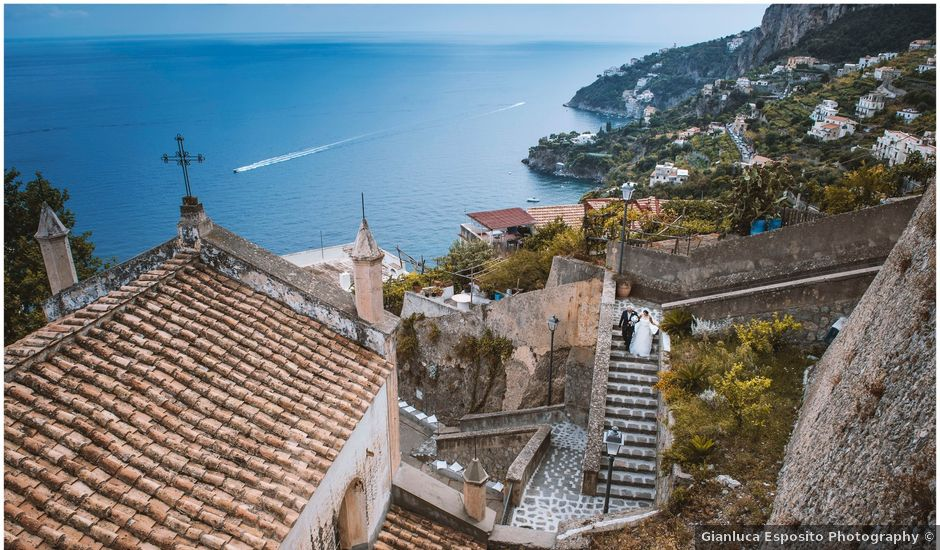Il matrimonio di Simona e Maurizio a Amalfi, Salerno