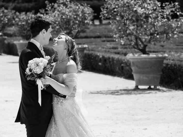 le nozze di Elena e Cristian