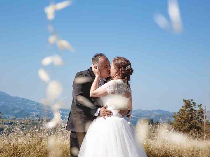le nozze di Mariangela e Emiliano