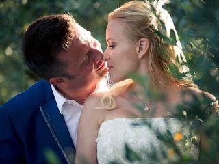 Le nozze di Inna e Claudio