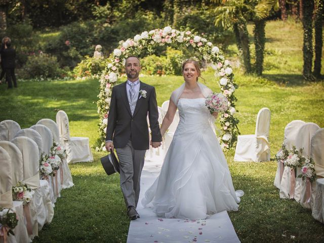 le nozze di Nadia e Luca