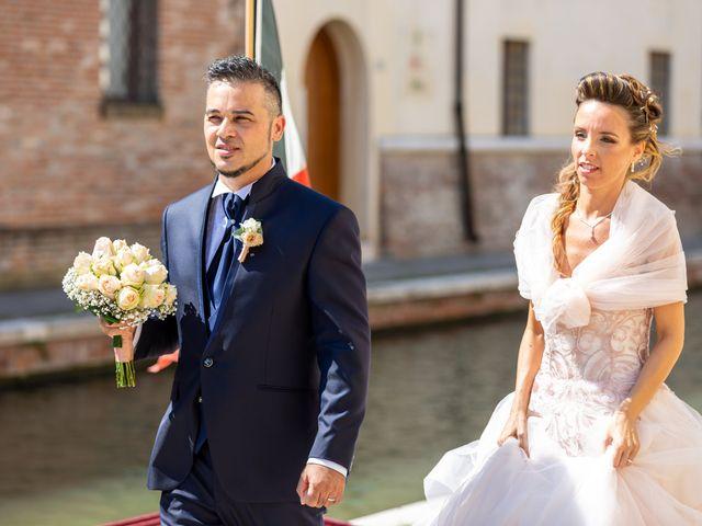 Il matrimonio di Lorenzo e Oriana a Comacchio, Ferrara 73