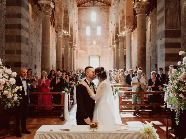 Il matrimonio di Cecilia e Simone a Pisa, Pisa 31