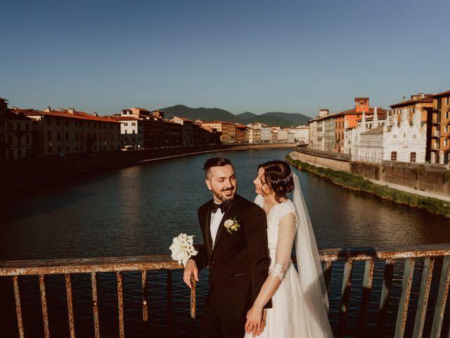 Il matrimonio di Cecilia e Simone a Pisa, Pisa 39