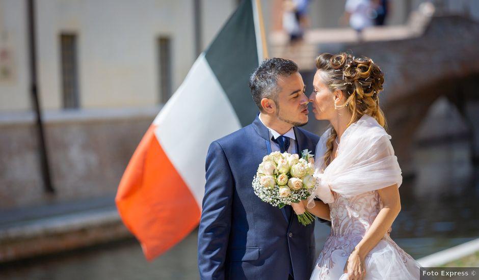Il matrimonio di Lorenzo e Oriana a Comacchio, Ferrara