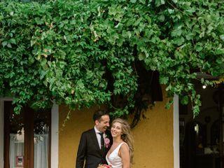 Le nozze di Gina e Jesse