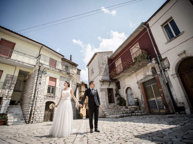 Il matrimonio di Nicola e Adriana a Campoli del Monte Taburno, Benevento 27