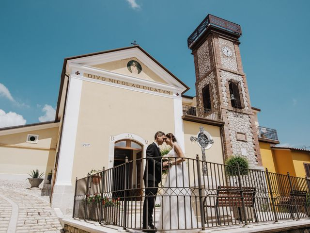 Il matrimonio di Nicola e Adriana a Campoli del Monte Taburno, Benevento 32