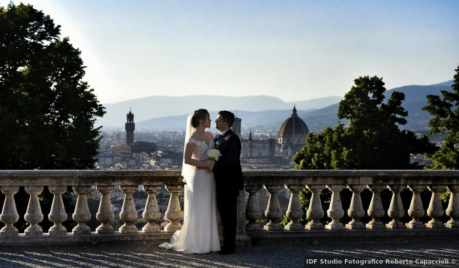 Il matrimonio di Carlotta e Lorenzo a Firenze, Firenze