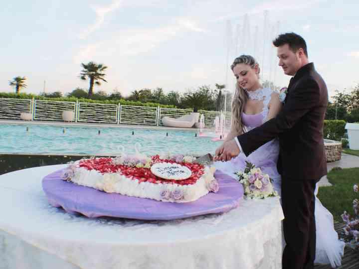 le nozze di Desirée e Mattia
