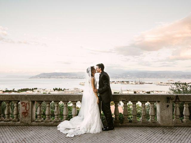 le nozze di Marilena e Luca