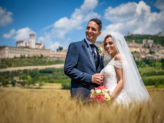 Il matrimonio di Francesco e Jessica a Assisi, Perugia 73