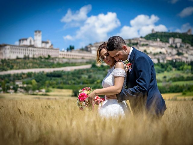 Il matrimonio di Francesco e Jessica a Assisi, Perugia 76