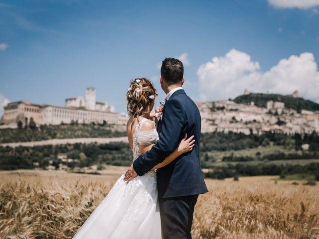 Il matrimonio di Francesco e Jessica a Assisi, Perugia 79