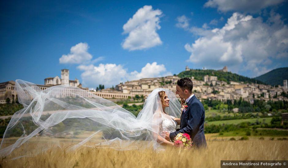 Il matrimonio di Francesco e Jessica a Assisi, Perugia