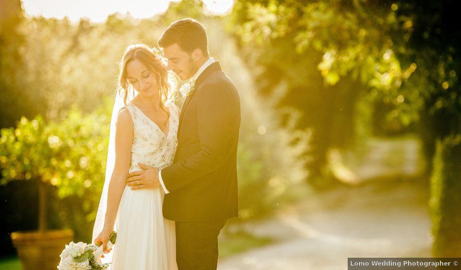 Il matrimonio di Alessandro Soncin e Claudia Taccucci a Cortona, Arezzo