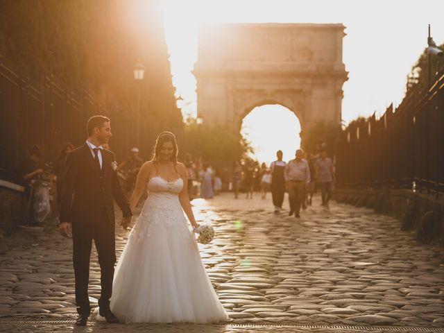 Il matrimonio di Francesco e Francesca a Roma, Roma 19