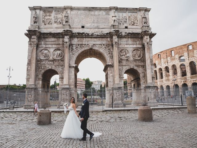 Il matrimonio di Francesco e Francesca a Roma, Roma 32