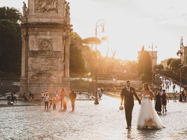 Il matrimonio di Francesco e Francesca a Roma, Roma 36