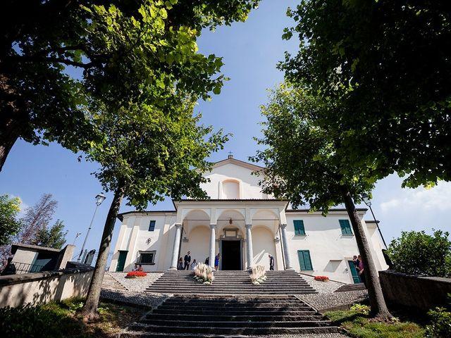 Il matrimonio di Matteo e Nicoletta a Oliveto Lario, Lecco 17