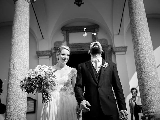 Il matrimonio di Matteo e Nicoletta a Oliveto Lario, Lecco 28