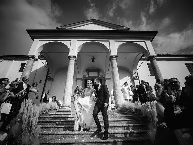 Il matrimonio di Matteo e Nicoletta a Oliveto Lario, Lecco 1