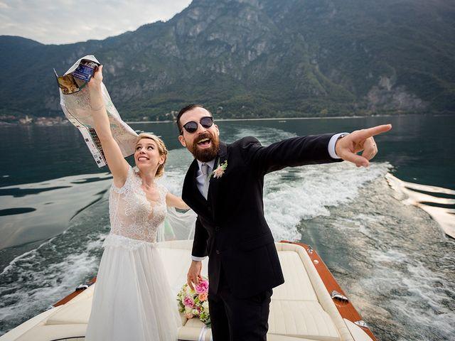 Il matrimonio di Matteo e Nicoletta a Oliveto Lario, Lecco 33