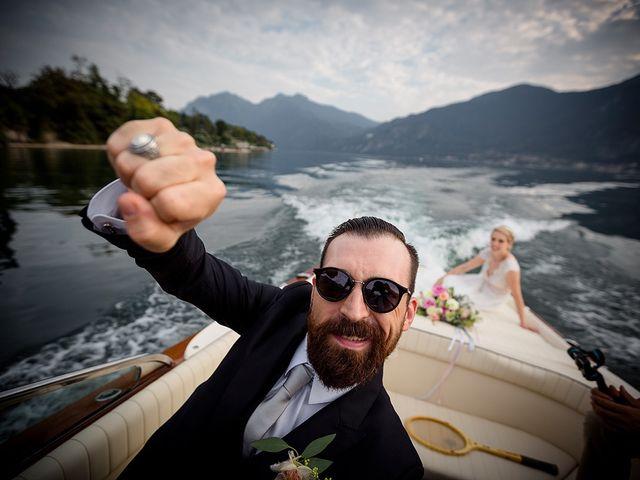 Il matrimonio di Matteo e Nicoletta a Oliveto Lario, Lecco 34