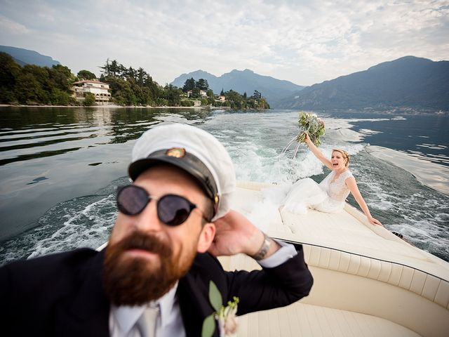 Il matrimonio di Matteo e Nicoletta a Oliveto Lario, Lecco 35