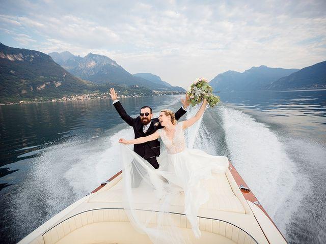 Il matrimonio di Matteo e Nicoletta a Oliveto Lario, Lecco 36