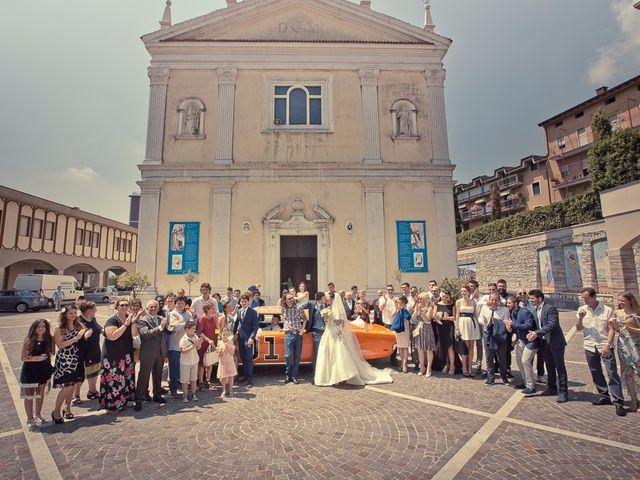 Il matrimonio di Fabio e Mariastella a Lumezzane, Brescia 87