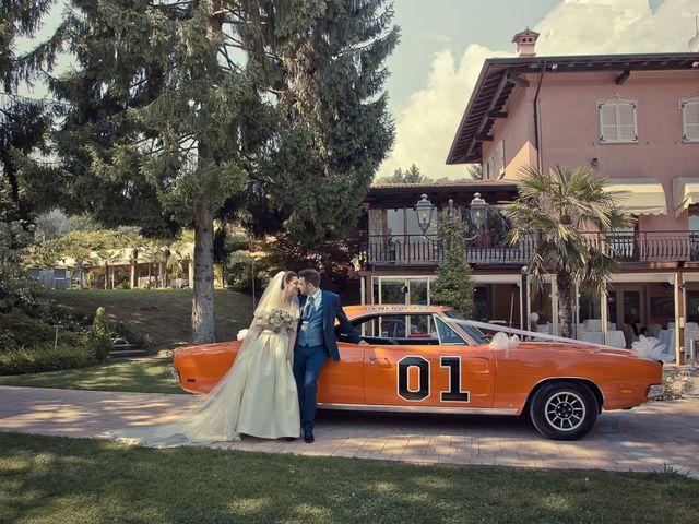 Il matrimonio di Fabio e Mariastella a Lumezzane, Brescia 95