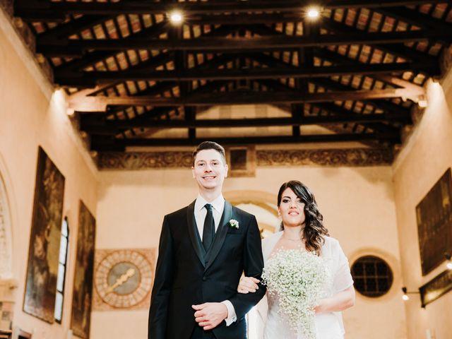 Il matrimonio di Davide e Viviana a Piove di Sacco, Padova 35