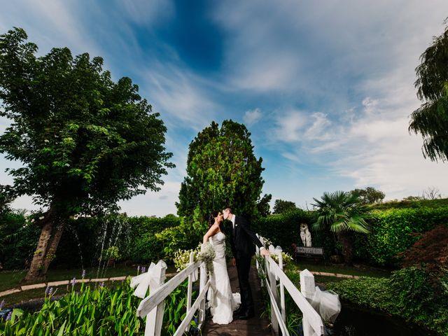Il matrimonio di Davide e Viviana a Piove di Sacco, Padova 55