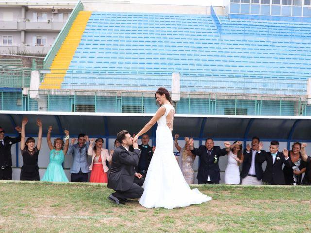 le nozze di Rosaria e Mario