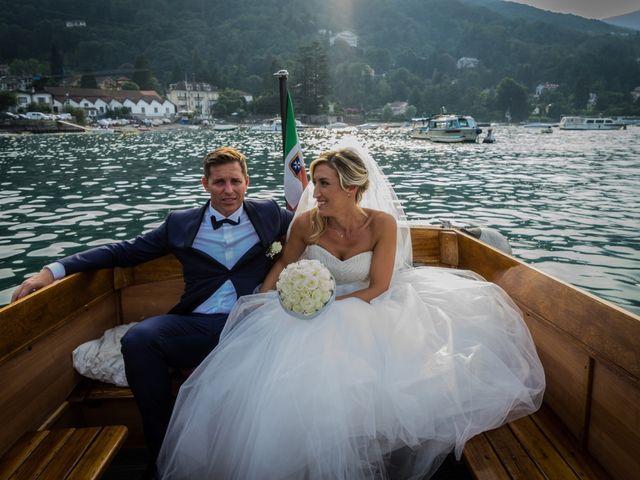 Il matrimonio di Vincenzo e Stefania a Stresa, Verbania 45
