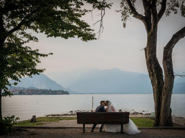 Il matrimonio di Vincenzo e Stefania a Stresa, Verbania 48