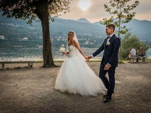 Il matrimonio di Vincenzo e Stefania a Stresa, Verbania 50