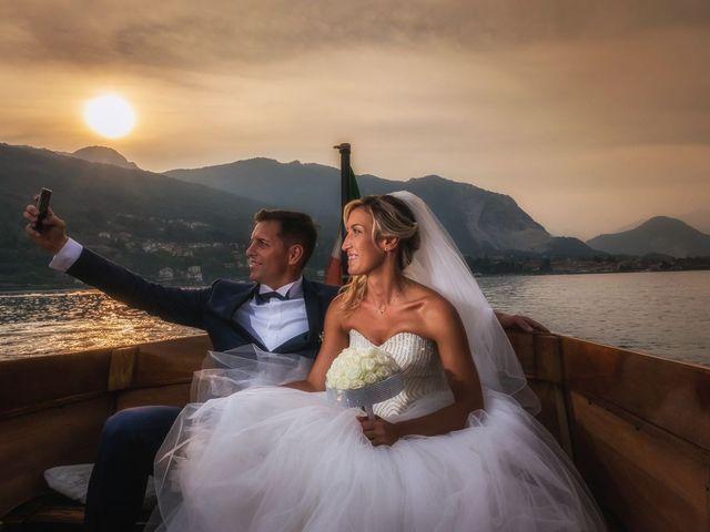 Il matrimonio di Vincenzo e Stefania a Stresa, Verbania 54