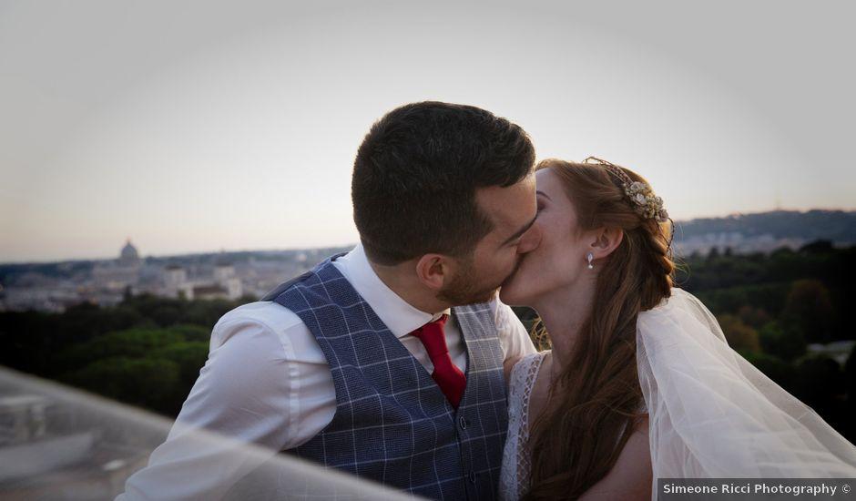 Il matrimonio di Diego e Natalie a Roma, Roma