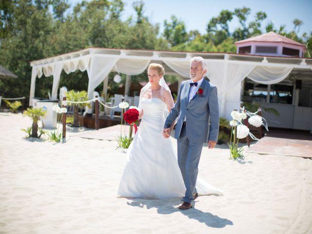 Il matrimonio di Andy e Anja a Castiadas, Cagliari 7
