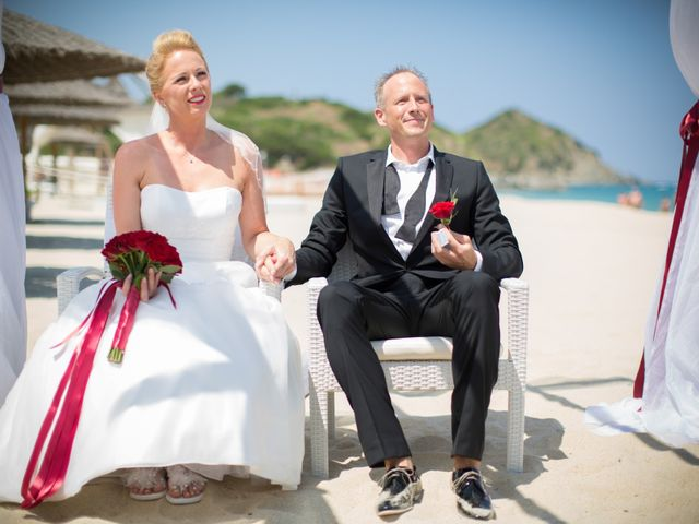 Il matrimonio di Andy e Anja a Castiadas, Cagliari 9