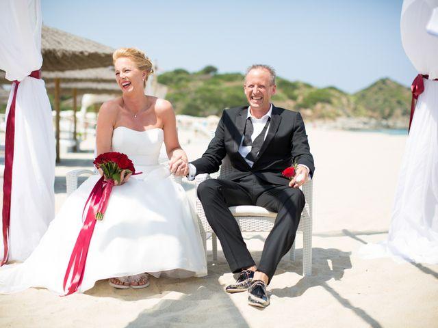 Il matrimonio di Andy e Anja a Castiadas, Cagliari 15