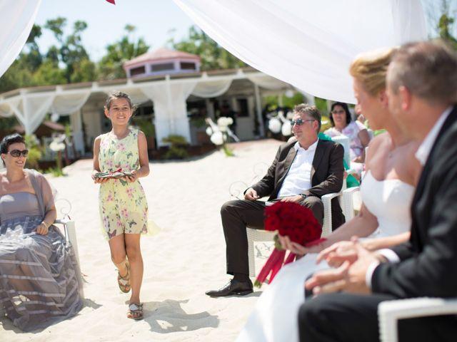 Il matrimonio di Andy e Anja a Castiadas, Cagliari 16