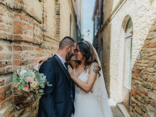 Il matrimonio di Mattia e Tity a Città Sant'Angelo, Pescara 66