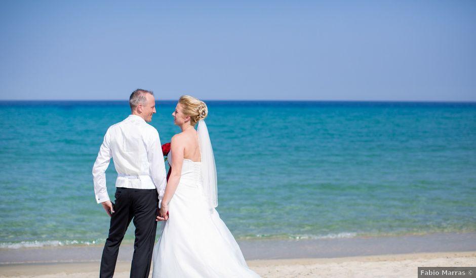 Il matrimonio di Andy e Anja a Castiadas, Cagliari
