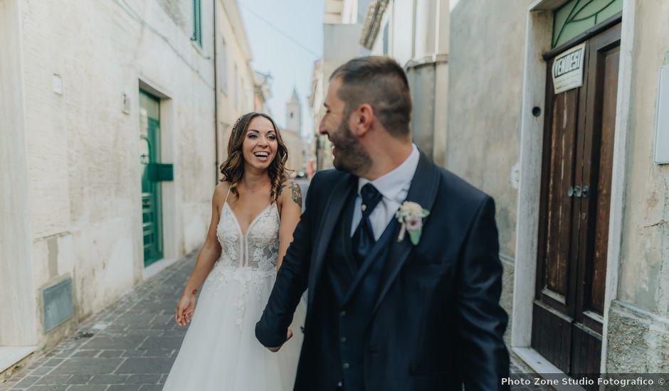 Il matrimonio di Mattia e Tity a Città Sant'Angelo, Pescara