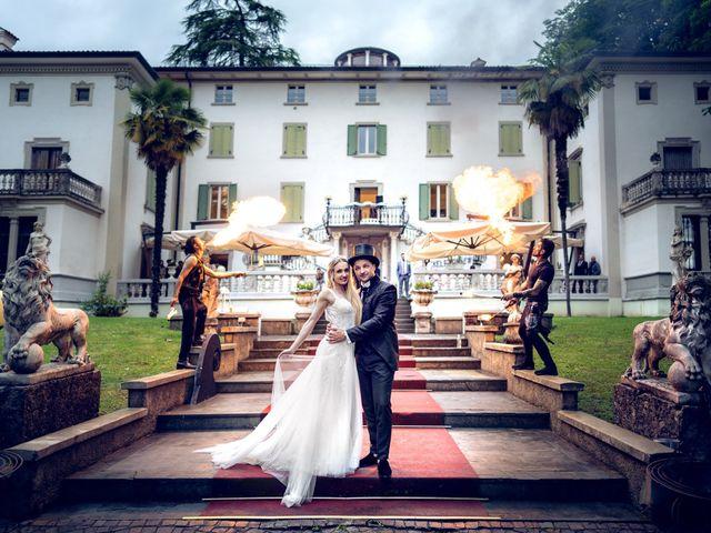 Le nozze di Jennifer e Alessandro
