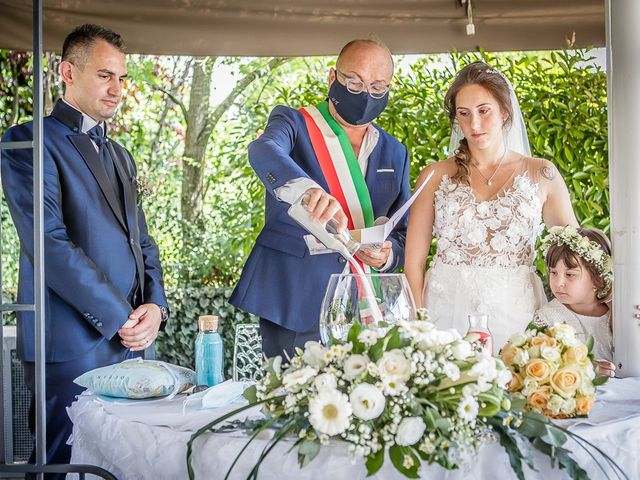 Il matrimonio di Alessandro e Chiara a Settala, Milano 170