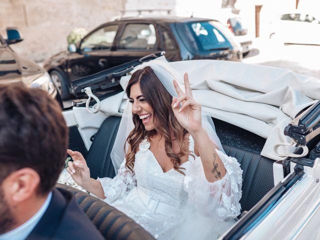 Il matrimonio di Mara e Francesco a Gravina in Puglia, Bari 79